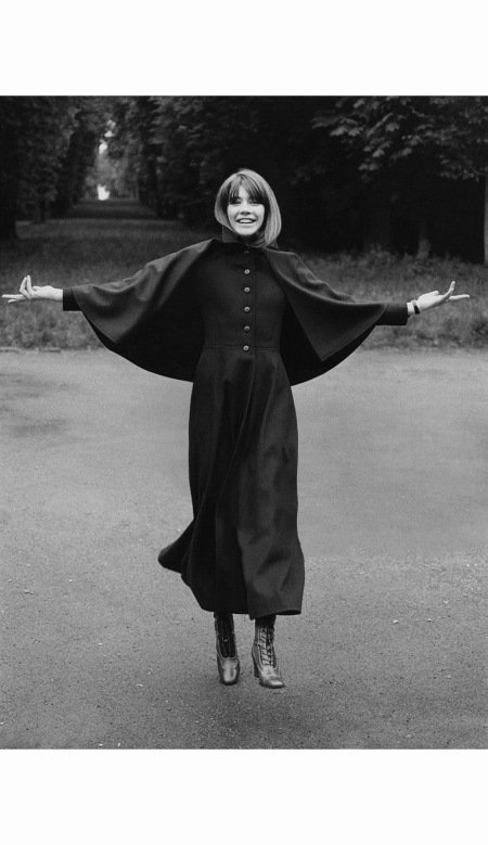 francoise-hardy-wearing-a-coachmans-coat-with-a-small-cape-lace-boots-all-by-yves-saint-laurent-arnaud-de-rosnay