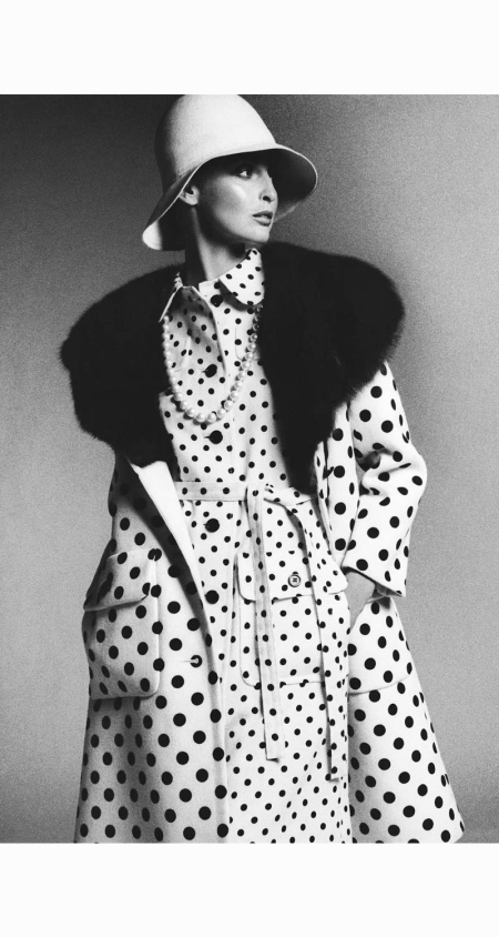 model-wearing-james-galanos-dress-and-coat-bob-stone-1972