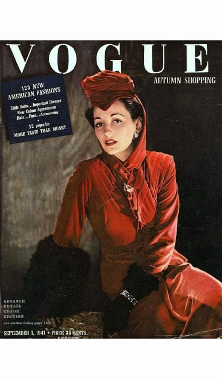 Vogue Magazine Cover - 1941