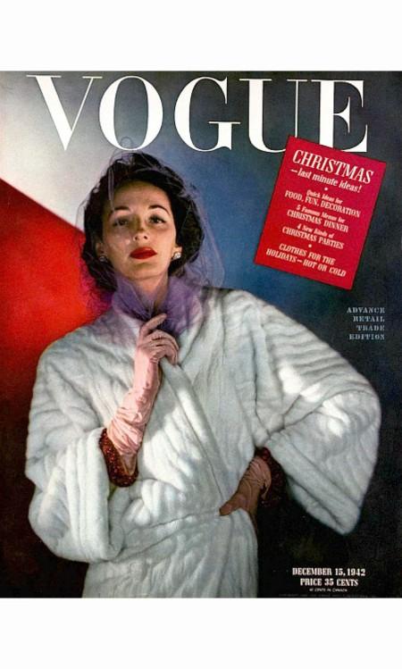 Vogue Magazine Cover - 1942