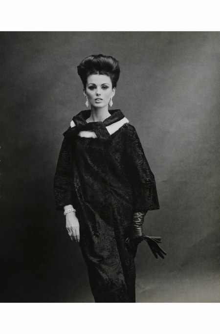 dorothy-mcgowan-with-her-hair-up-modeling-a-maximilian-dyed-russian-broadtail-coat-with-mink-under-collar-diamond-jewelry-and-gloves-1963-b