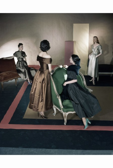 four-models-september-1947-horst-p-horst-four-models