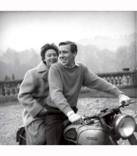 lord-snowdon-with-princess-margaret-on-his-morton-motorbike
