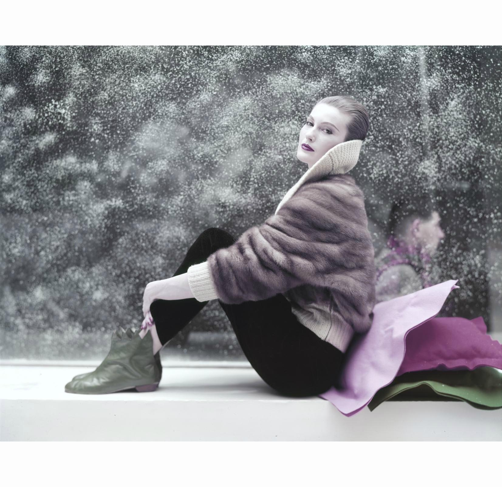 White Fur Stole >> Mary Jane Russell | © Pleasurephoto