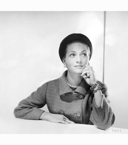 mrs-arturo-ramos-modeling-a-givenchy-black-felt-hat-nov-1955