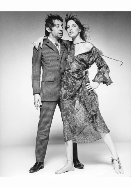 Serge Gainsbourg and Jane Birkin