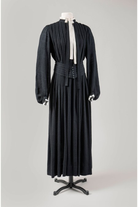 Attributed to Georgia O_Keeffe, Dress with Matching Belt, circa 1930s Gavin Ashworth : Courtesy of Georgia O_Keeffe