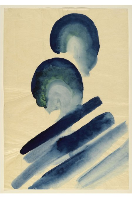 Georgia O_Keeffe, Blue #2, 1916
