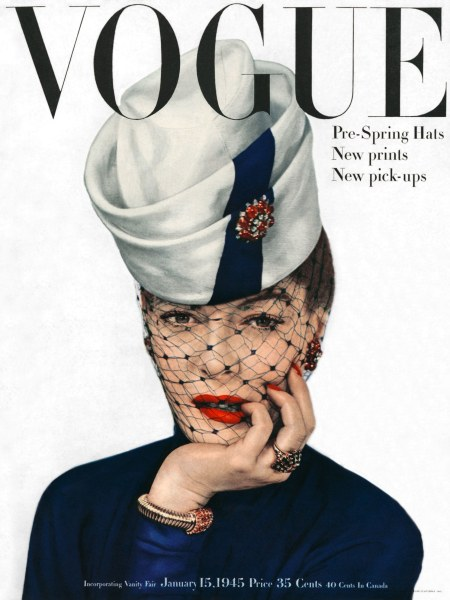 Muriel Maxwell Vogue, January 1945 Erwin Blumenfeld