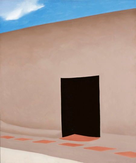 Patio with Cloud, 1956