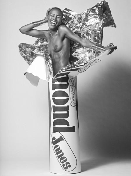 Grace Jones, Lui Cover », de la série « Candy Bar Girls » d_Antonio Lopez, 1979 © Pierre Houles
