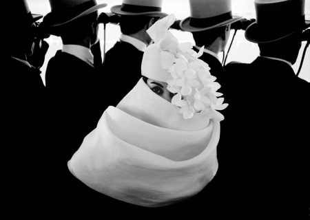 1958, Paris, for Jardin des Modes, Givenchy hat (a)
