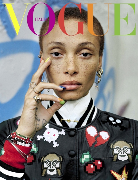 Adwoa Aboah Vogue italia december 2015 © Tim Walker