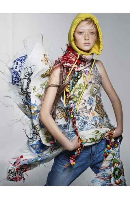 Alexander McQueen Jeans Calvin Klein Necklaces Pebble London Hoodie Topshop Snood Cecily Cracroft-Eley