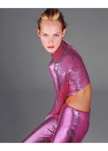 Amber Valletta, November 18, 1995