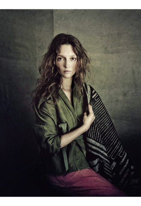 Audrey Marnay Vogue Italia September 2014 © Paolo Roversi