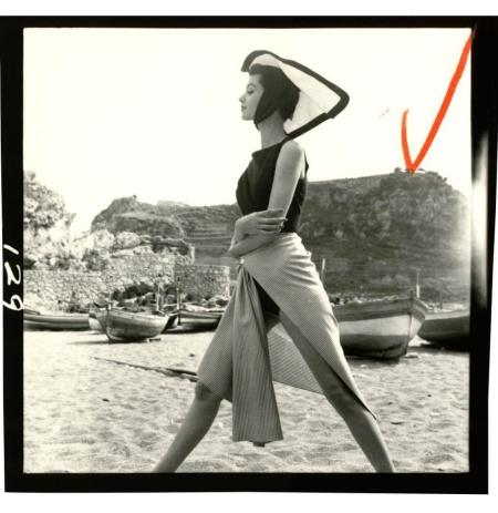 Barbara Mullen, Italy, June 1950