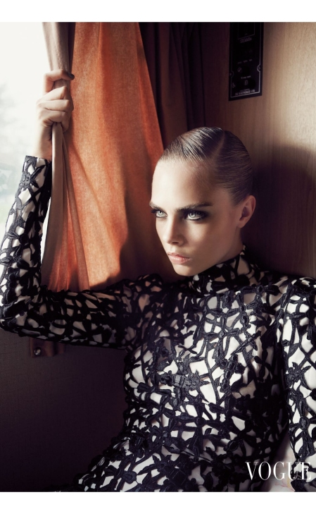Cara Delevingne She's Eclectic - UK Vogue November 2012 © Glen Luchford7