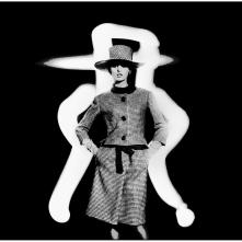 Dorothea McGowan in Yves Saint Laurent 1962 b