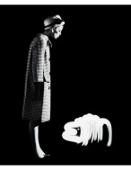 Dorothy + Light Dog, Paris, 1962