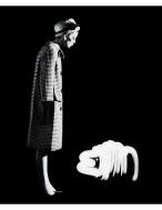 Dorothy + Light Dog, Paris, 1962