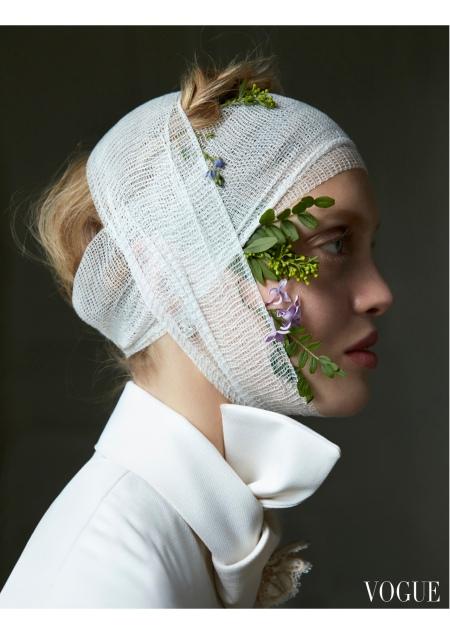 Ella Wennström Vogue Italia November 2016 © Camilla Åkrans