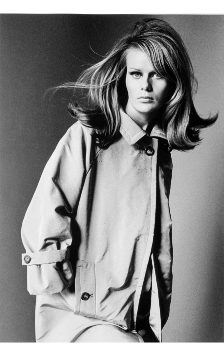 Finnish fashion model Hellevi Keko Haper's Bazaar April 1966 © Francesco Scavullo copia