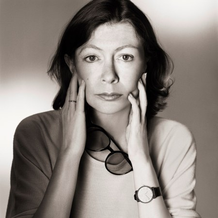 Joan Didion, Eyeglasses, Los Angeles, 1983 © Matthew Rolston
