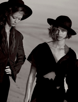 Kate, Lara, Irina, Sara Grace, & Birgit In 'Natural Beauty' Vogue Germany May 2017 © Peter Lindbergh8