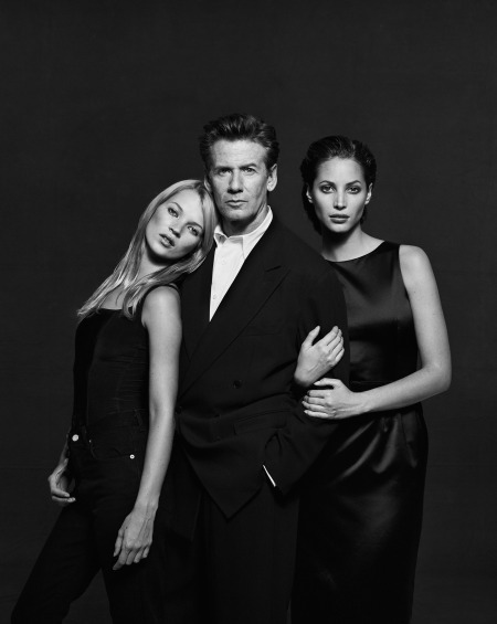 Kate Moss, Calvin Klein, And Christy Turlington © Peter Lindbergh