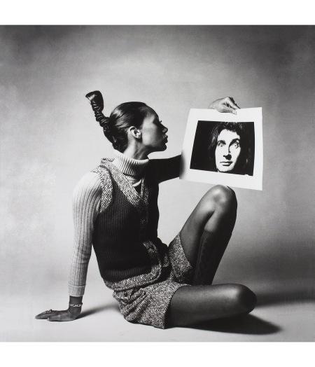 Marisa berenson Vogue London 1968 © Jeanloup Sieff