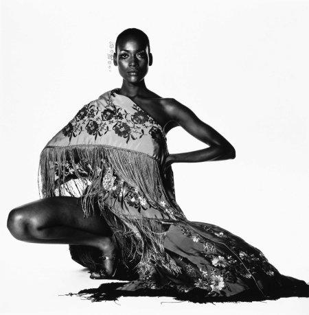 Naomi Sims in Scarf, New York, ca. 1969 b