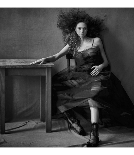 Natalie Westling Vogue Italia September 2017 © Peter linbergh