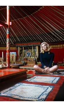 Outer Mongolia Gandan Monastery in Ulan Bator, 1966-1971