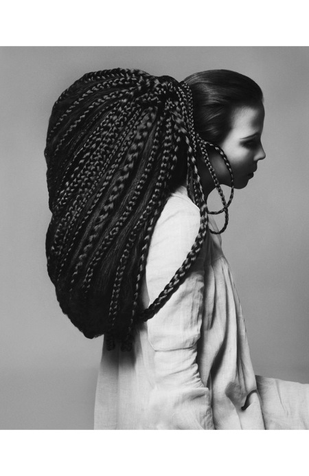 Penelope Tree, hair by Ara Gallant, New York, November 20, 1967
