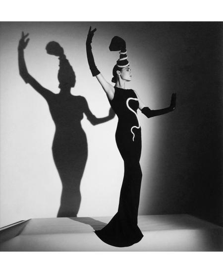 "Roseberys London –Horst P Horst, German 1906-1999- ""Chanel Evening Dress for British Vogue, London (Yasmin)"", 1986 © Horst P. Horst"