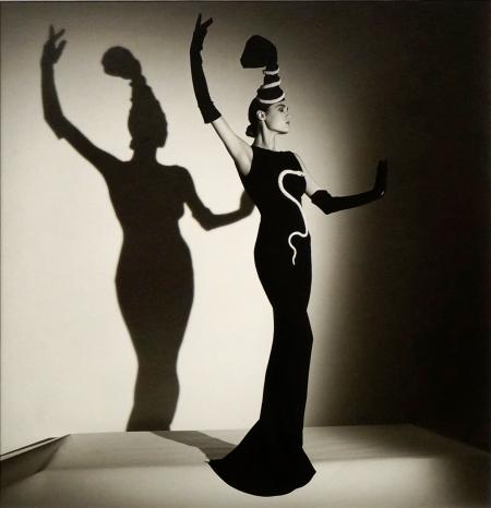 "Roseberys London –Horst P Horst, German 1906-1999- ""Chanel Evening Dress for British Vogue, London (Yasmin)"", 1986"