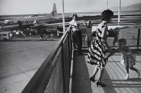 Salt Lake City Municipal Airport 1964 © Garry Winogrand