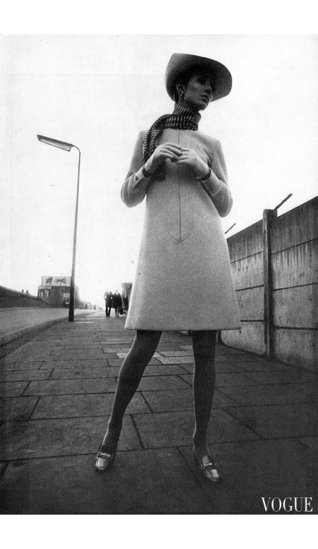 Swing to Coatdress 15th March 1967 - UK Vogue © David Montgomery b