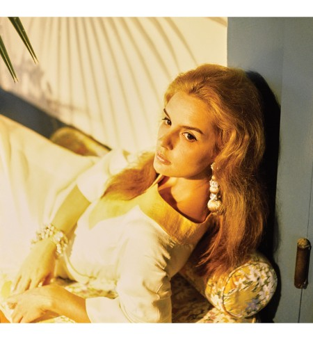 The then-unpublished image of a young Carolina Herrera, 1968