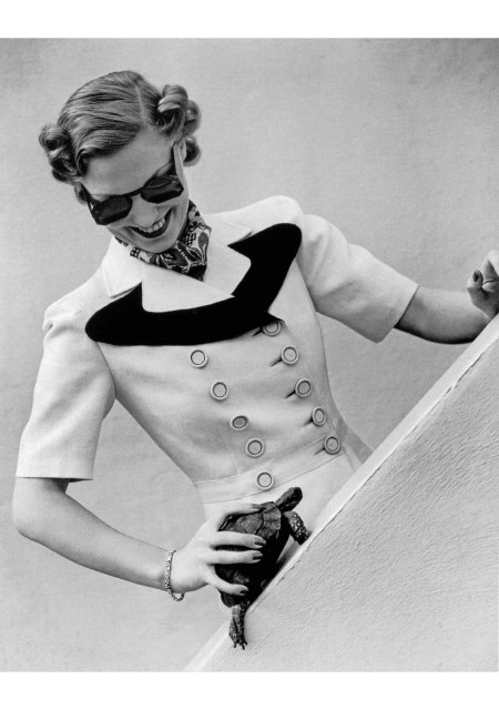 Thelma Wooley in suit by Matita, photo by Norman Parkinson, 1938 - Thelma Wooley was Norman Parkinson's second wife