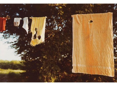 Untitled (Laundry Line) 1970's William Eggleston