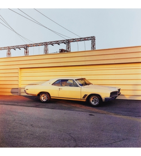 UNTITLED (YELLOW CAR), CIRCA 1976 © William Eggleston
