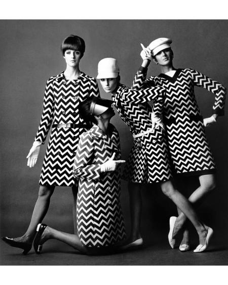 "Agneta Darin, Maggi Eckardt, Sunny Griffin, China Machado, Beate Schulz Moore ""See Paris,"" Harper_s Bazaar, March 1966"