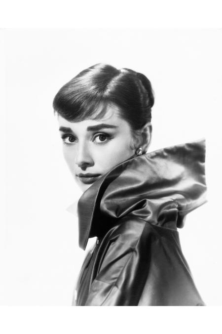 Audrey Hepburn 1957 © Bud Fraker