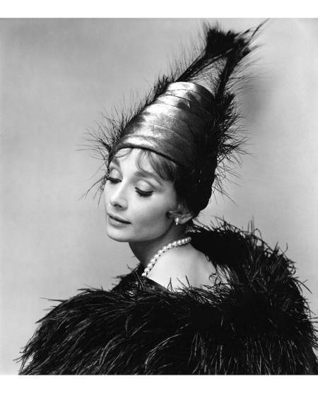 Audrey Hepburn 1963 © Cecil Beaton a copia