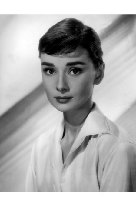 Audrey Hepburn c. 1957 © Bud Fraker b