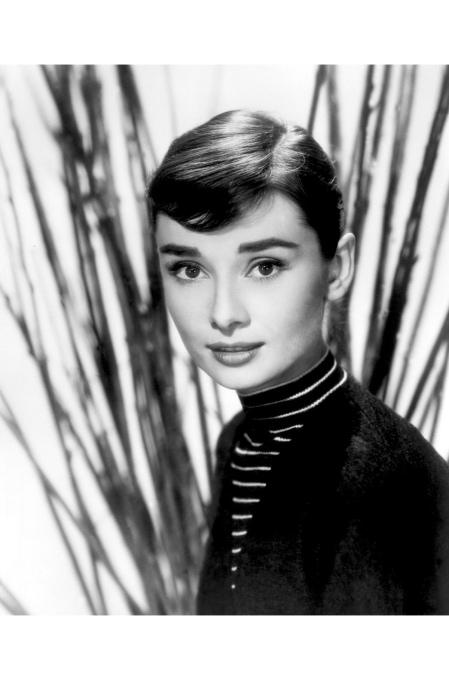 Audrey Hepburn c. 1957 © Bud Fraker