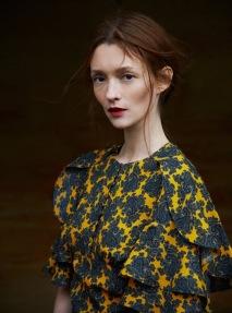 Audrey Marnay Harpers Bazaar 2015 © Erik Madigan Heck4