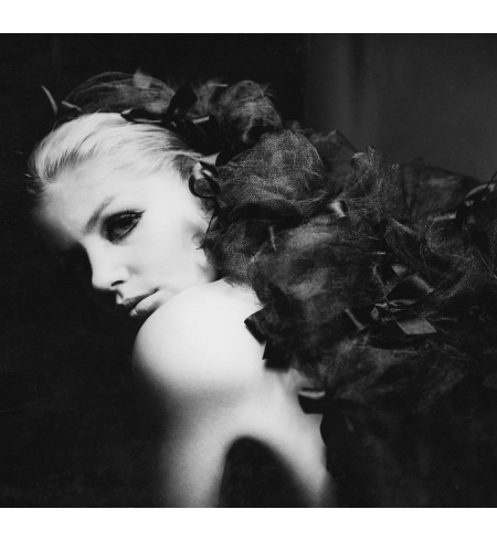 Catherine Deneuve - Dior - Vogue 1964 © Guy Bourdin